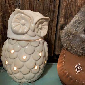 Owl candle melt/light